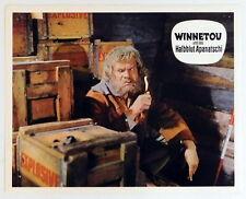WINNETOU UND DAS HALBBLUT APANATSCHI original Kino Aushangfoto 1966 # 4