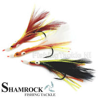 Shamrock Irish Tackle Mixed Rainbow Warrior 3 Hook Sea Rigs - Sea Fishing Rigs