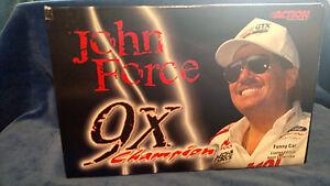 1:24 2000 ACTION NHRA CASTROL GTX MUSTANG FUNNY CAR 9X CHAMPION JOHN FORCE