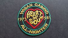 MOD SKA SCOOTER SEW ON / IRON ON PATCH:- WIGAN CASINO (b) HEART OF SOUL GREEN
