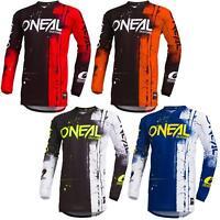 O'Neal Element Shred Kinder Motocross Jersey MTB Mountain Bike Downhill Kids BMX