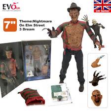 "7"" NECA Nightmare on Elm Street 3 Dream Freddy Krueger Action Figure Toy Model"
