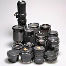 Lot Fifteen (15) Olympus, Minolta MD Lenses - Tamron, Rokinon, Tokina & MORE