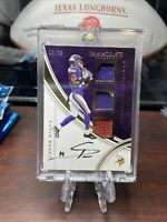 2016 Immaculate Collection Stefon Diggs 3 Patch Auto 29/99!!! Mint!!! Great Card
