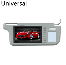"7"" Car Sun Visor Mirror LCD Monitor Display For Passenger DVD TV Rearview Camera"