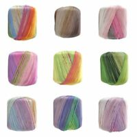 Colorful Crochet Thread Cashmere Wool Blend Yarn Knitting Cotton Balls Accessory