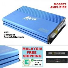 High Power 12V Digital 4 Channel Class AB Car and Truck Mosfet Amplifier