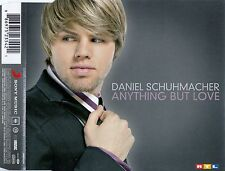DANIEL SCHUHMACHER : ANYTHING BUT LOVE / 3 TRACK-CD + MULTIMEDIA PART