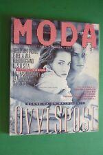MODA 1989 CLAUDIA CARDINALE+MERYL STREEP+JOHNNY HALLYDAY+RODNEY ROWLAND+A.ARCHER