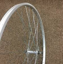 """BICYCLE WHEEL 27 X 1 - 1/4"""" FRONT FIT SCHWINN OTHERS NEW"""