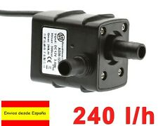 Mini Bomba Sumergible de Agua DC 12V 240L/h 3.6W Arduino Motor Water Pump M0110