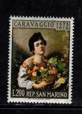 Caravaggio San Marino nuovi gomma integra mnh