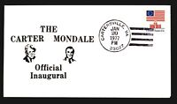 1977 Carter Mondale Inauguration Cover - Carterville VA CDS - Z14282
