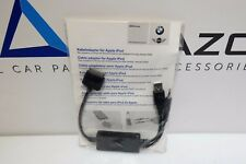 Bmw OEM NEW original Cable adapter for Apple iPod iPhone 61120422099