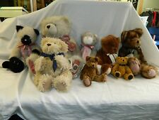 Boyd's Bears Vintage Lot of 8 including bear of the month half w/ original tags