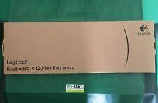 LOGITECH K120 TASTIERA SLIM NERA USB (920-002517)