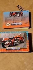 100 thunder Motorcycle Trading Cards
