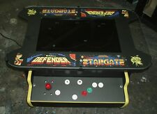 Defender / Stargate Cocktail Table Arcade Video Multi Game Machine