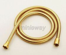 1.5m Gold Color Brass Flexible Bathroom Hand Held Shower Hose mba134