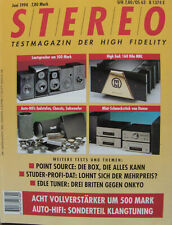 Stereo 6/94 Marantz PM-44SE, NAD 302, Studer D780, Denon UTU-F10, Elac EL 50 II