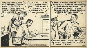 HAL FORREST Original TAILSPIN TOMMY Daily Comic Strip ART, 1941