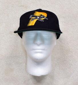 Vintage Palace Black Wool Mix Baseball Cap Hat One Size