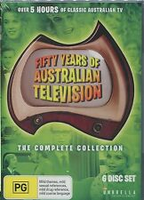 FIFTY YEARS OF AUSTRALIAN TELEVISION - THE COMPLETE COLLECTION - 6 DVD's
