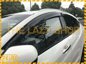 Weathershields, Weather Shields for Honda HRV HR-V 14+ Luxury Window Visors T