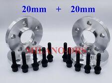 DISTANZIALI RUOTA 20 mm 8 S KIT DISTANZIALI 5x112 57.1 2 16-17 BULLONI per AUDI TTRS