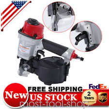 Pneumatic Coil Nailer Air Coil Nail Gun Tool for Wooden Furniture Fences Plywood