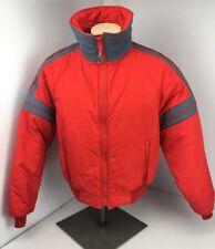 Alpine Design Men's Large XL Ski Snowboard Jacket Canyon Parka Coat Red Stripe