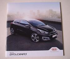 Kia . Pro-Ceed . New Kia Pro Ceed . September 2015 Sales Brochure