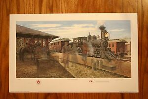 The Immigrants RCMP James Lumbers Signed & Numbered Limited Edition