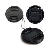 77mm Center-Pinch Snap-on Front Lens Cap Cover for Canon Nikon DSLR Camera Lens