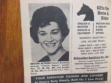 Nov. 1966 Cleveland Press TV Mag(PATRICIA ROUTLEDGE/CAROLE WELLS/KENNY KELLIHER)