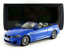 Paragon Models 2015 BMW M4 CABRIOLET (F83) Blue Dealer Edition 1/18 Scale New!