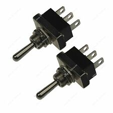 2X3P ON/OFF SPDT 2 Position Latching Toggle Switch Car Motor Auto Toggle Rocker