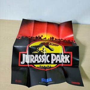 Jurassic Park Sega Genesis Game Poster Insert
