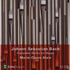 MARIE-CLAIRE ALAIN - COMPLETE ORGAN WORKS  15 CD  JOHANN SEBASTIAN BACH  NEU