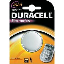 DURACELL DL1620 PILE DURACELL 3V LITHIUM CR1620/ECR1620 CONFEZIONE 10 PILE