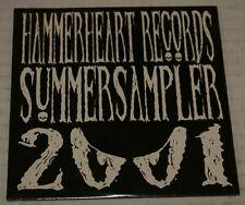 Hammerheart Records Summer Sampler 2001 Import Black Metal Sampler Cd New Sealed