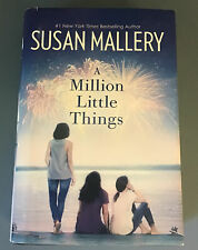 A Million Little Things by Susan Mallery (2017, Hardcover) LARGE PRINT