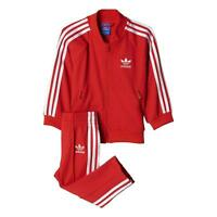 Adidas Originals Infant Superstar Tracksuit Kids children Full Set BJ8458 Red
