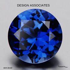 Beautiful Blue Tanzanite AAA 8 MM Stunning Round Cut Loose Gemstone