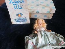 Vintage Antique Nancy Ann Storybook Doll 128 Daisey Garden Series w Org Box