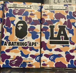 A Bathing Ape BAPE BE@RBRICK BEARBRICK 100% Medicom Toy LA Exclusive (Sealed)