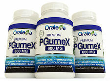 PgumeX 600MG Organic Detox&Cleanse. Rapid full body Detox of toxic Heavy Metals