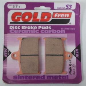 Brake Pad Gold Fren For Suzuki 1200 GSF Bandit ABS 1997 To 1997