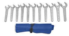 MARTIN SW11KM  11 Piece Metric Chrome Service Wrench Set