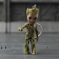 Key Chain Figure Guardians of the Galaxy Vol.2 Baby Groot NIB Push Bomb Button